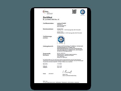 ewimed_Zertifikat EN ISO 13485-2016_deutsch_gültig ab 2019-10-08_gültig bis_2022-10-07