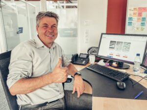 SEO/SEA- Manager Martin ist begeistert