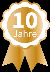 Medaille Gold 10 Jahre